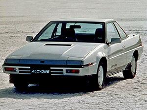 Технические характеристики Subaru Alcyone / XT