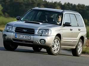 Технические характеристики Subaru Forester 2.5T 2002-2005 г.
