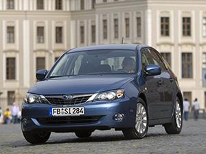 Технические характеристики Subaru Impreza 1.5R Luxury 2007-2012 г.