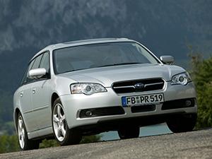 Технические характеристики Subaru Legacy 2.0R 2003-2006 г.