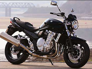 Suzuki Bandit спортбайк 650