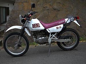 Suzuki Djebel эндуро 200