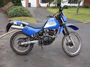 Suzuki DR эндуро 125
