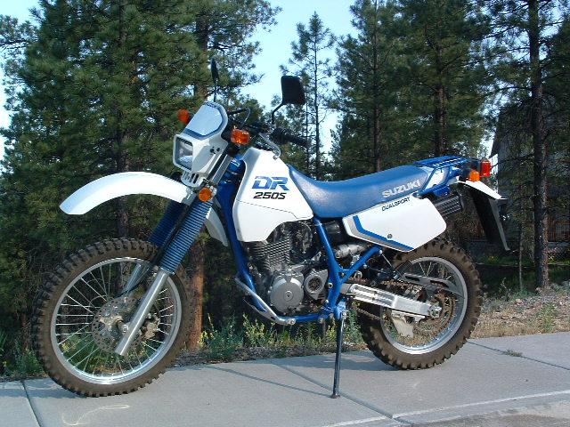 Suzuki (Сузуки) DR 250 S - г.