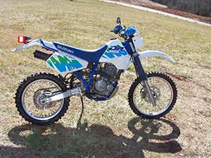 Suzuki DR эндуро 350