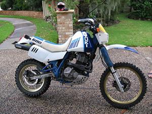 Suzuki DR эндуро 600 R Dakar