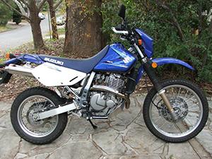 Suzuki DR эндуро 650 SE