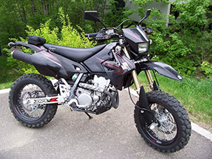 Suzuki DR-Z эндуро 400