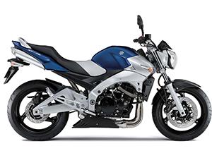 Suzuki GSR спортбайк 600
