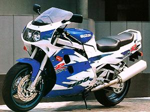 Suzuki GSX-R спортбайк 1100