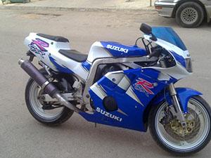 Suzuki GSX-R спортбайк 400
