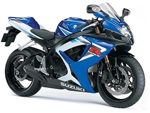 Suzuki GSX-R спортбайк 750
