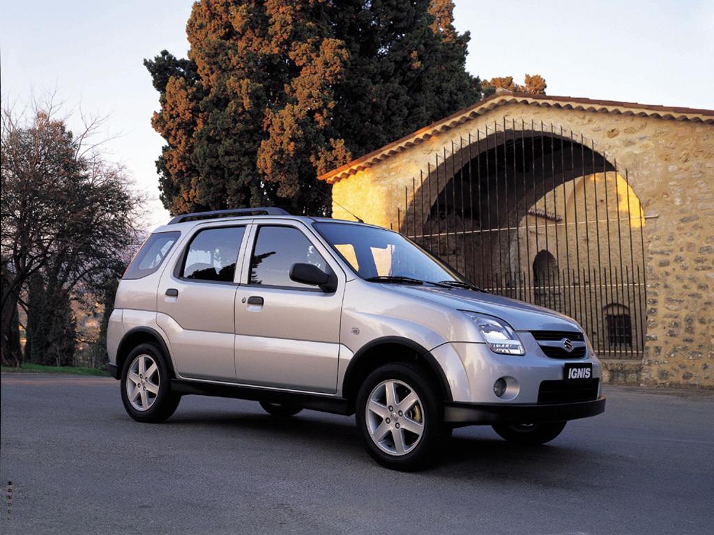 Suzuki (Сузуки) Ignis 2003-2006 г.