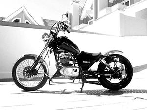 Suzuki Intruder кастом 125