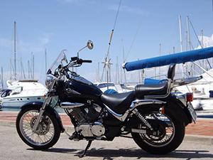 Suzuki Intruder кастом LC 250