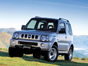 Suzuki Jimny 3 дв. внедорожник Metal Top