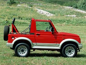 Suzuki Samurai 2 дв. внедорожник Metal Top