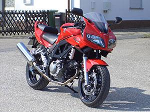 Suzuki SV спортбайк 650