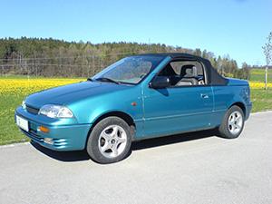 Suzuki Swift 2 дв. кабриолет Cabrio