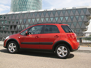 Suzuki SX4 5 дв. кроссовер SX4