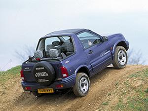 Suzuki Grand Vitara 3 дв. внедорожник Cabrio