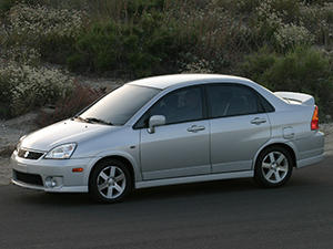 Технические характеристики Suzuki Aerio