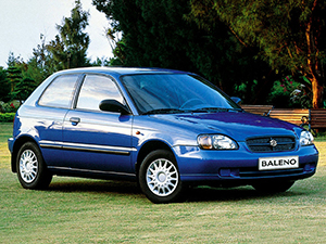 Технические характеристики Suzuki Baleno 1.6 1998-2002 г.