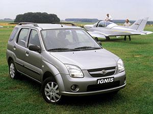Ignis с 2003 по 2006
