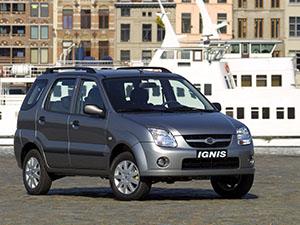 Технические характеристики Suzuki Ignis