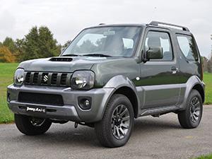 Технические характеристики Suzuki Jimny