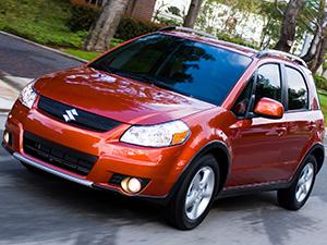 Технические характеристики Suzuki SX4 1.6 4Grip 2006-2010 г.
