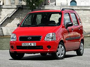 Технические характеристики Suzuki Wagon R+