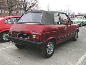 Talbot  Samba 2 дв. кабриолет Samba