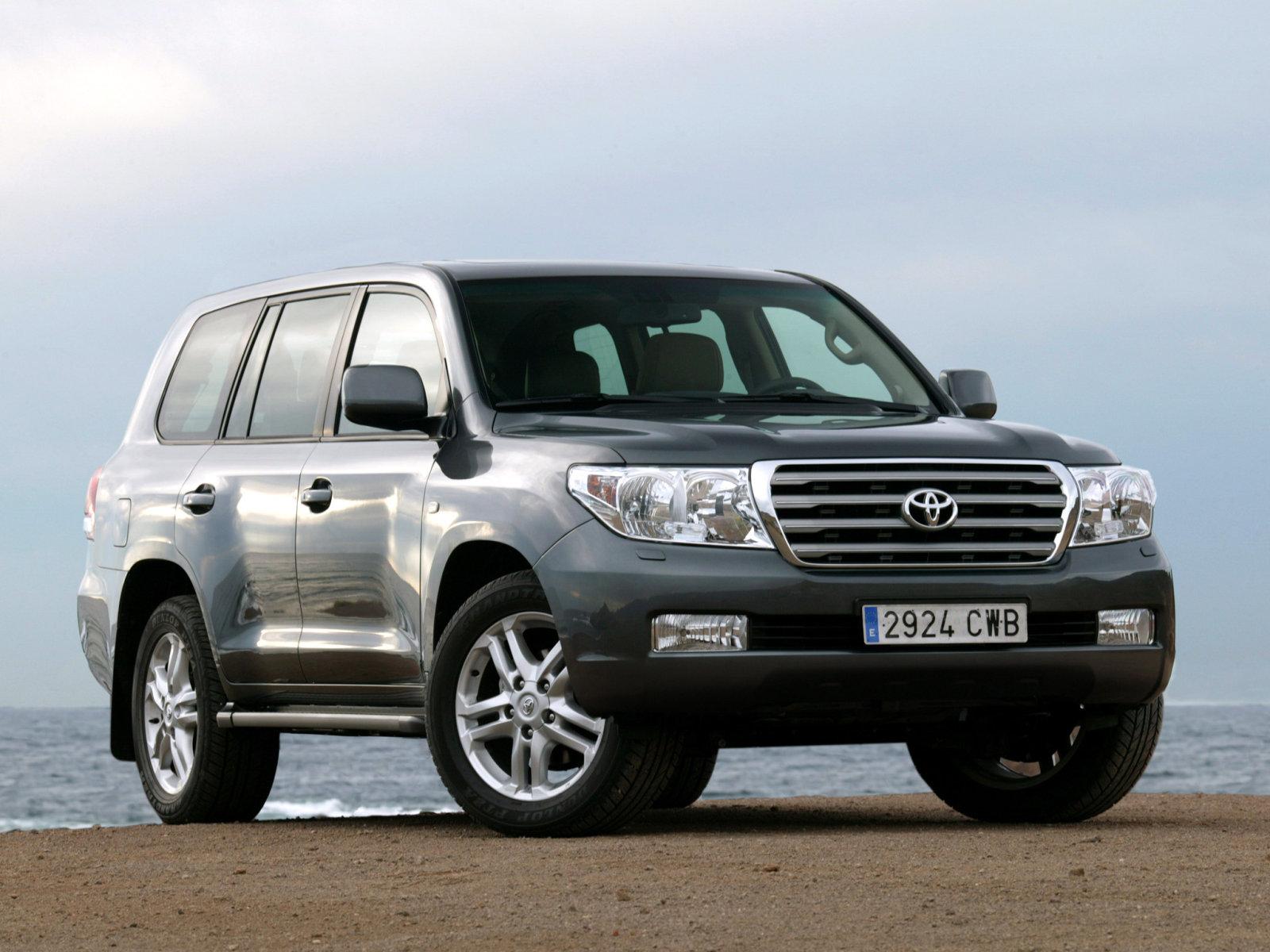 Toyota (Тойота) Land Cruiser 200 2007-2012 г.