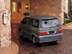 Toyota Alphard 5 дв. минивэн Alphard