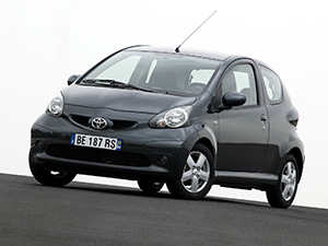 Toyota Aygo 3 дв. хэтчбек (B10)
