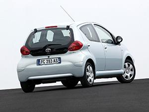 Toyota Aygo 5 дв. хэтчбек (B10)