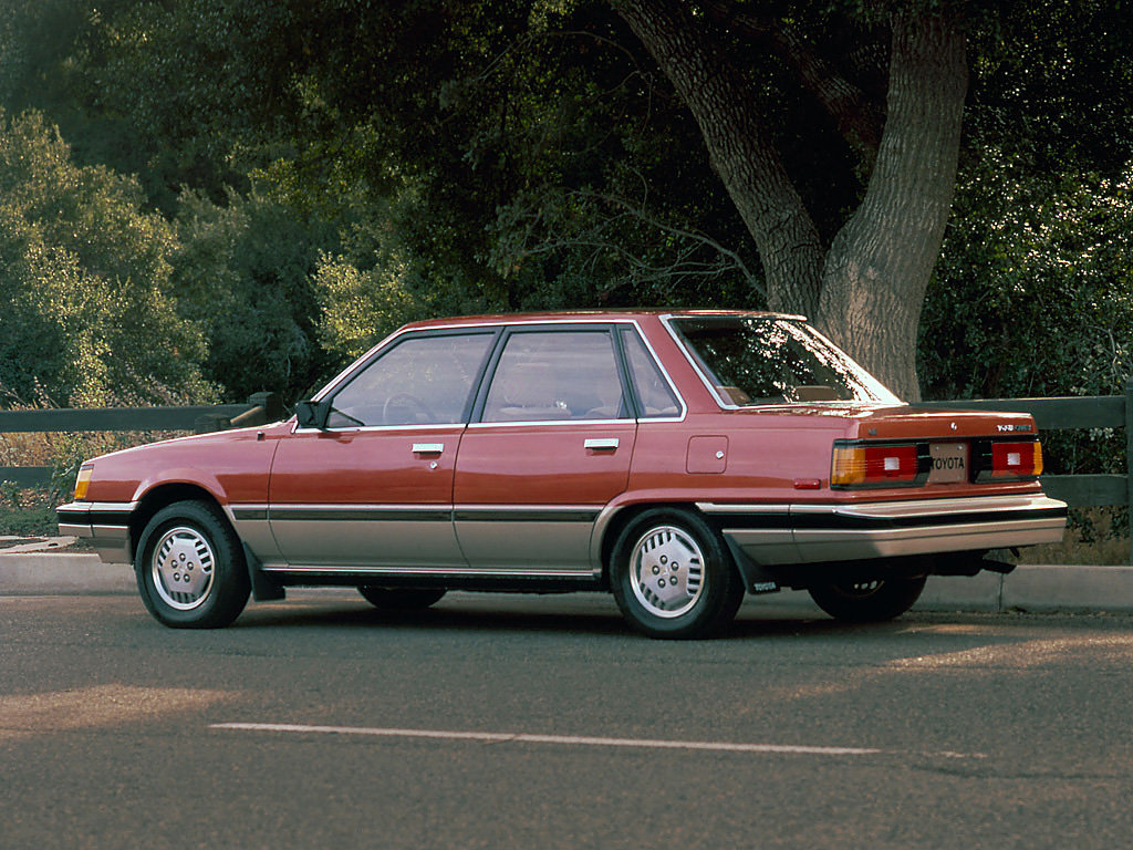 Toyota (Тойота) Camry 1983-1987 г.
