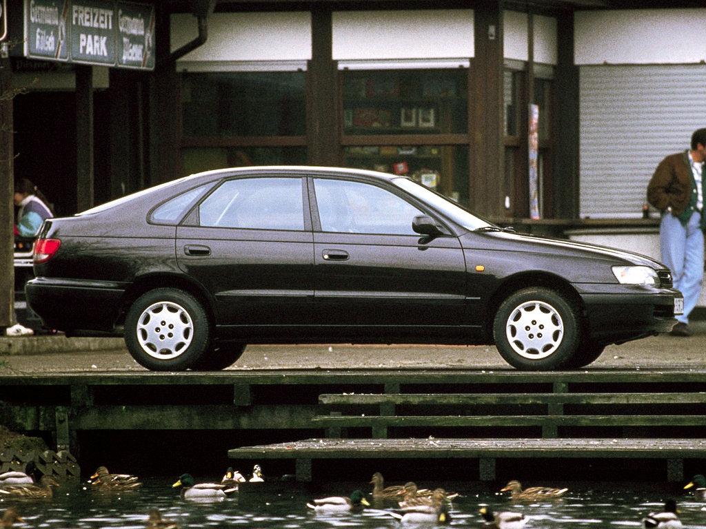 пружина Toyota Карина е #10