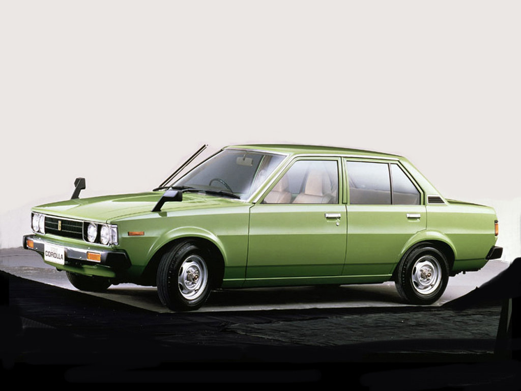 Toyota (Тойота) Corolla 1982-1983 г.