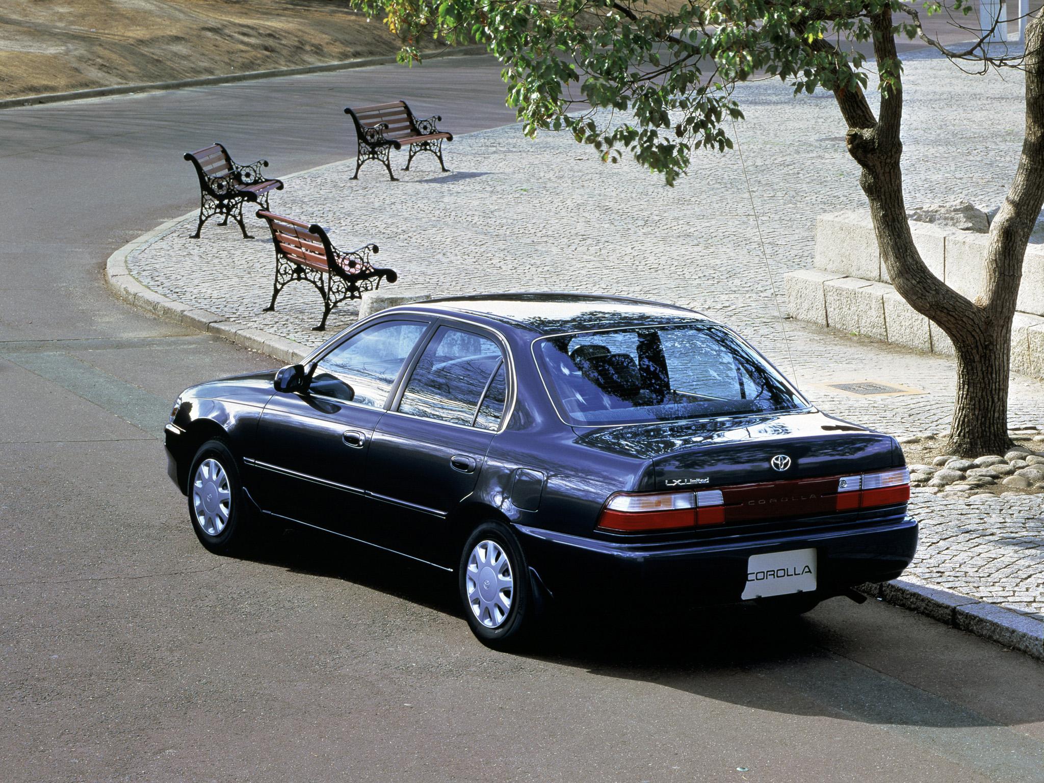 Toyota (Тойота) Corolla 1992-1997 г.