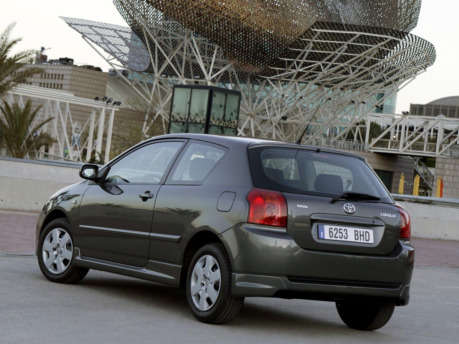 Toyota (Тойота) Corolla 2004-2007 г.
