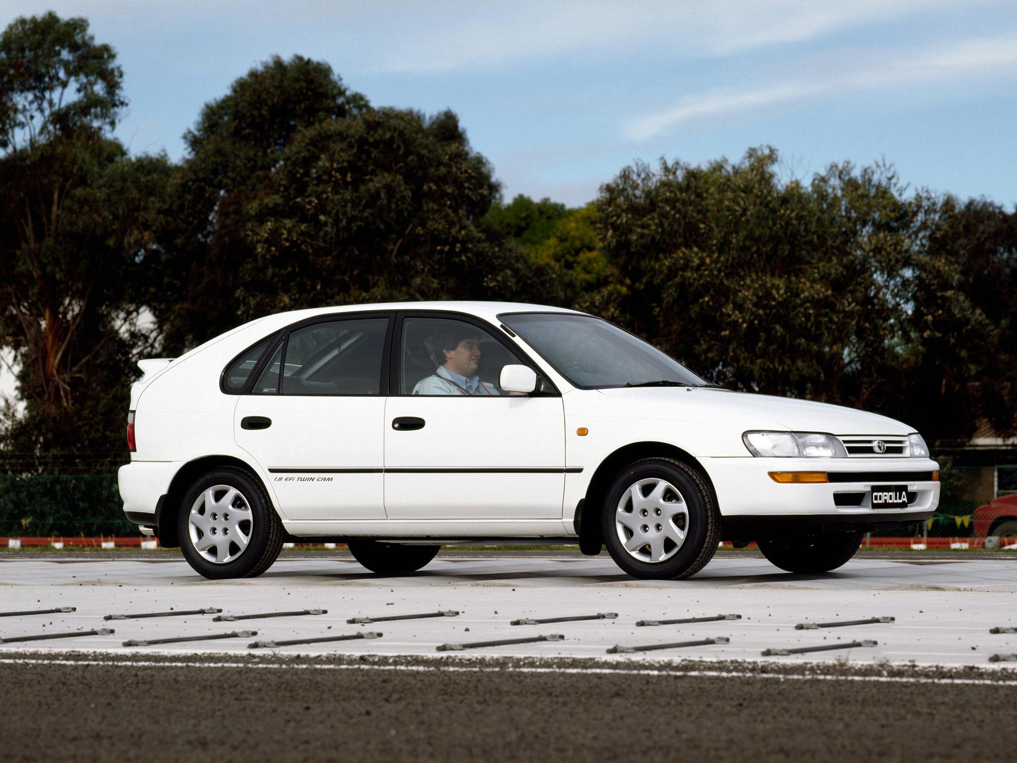устройство автомобиля тойота королла 1993 года