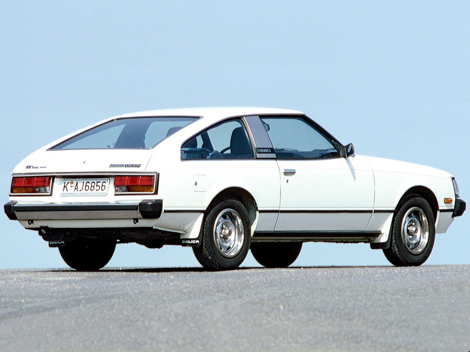 Toyota Тойота Celica Coupe 1980 1981 г технические