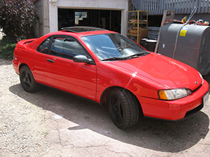 Toyota Cynos 2 дв. купе Cynos