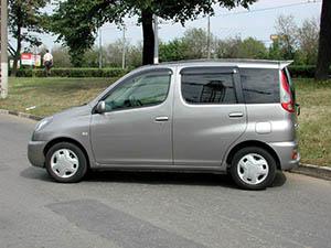 Toyota Funcargo  5 дв. минивэн Funcargo