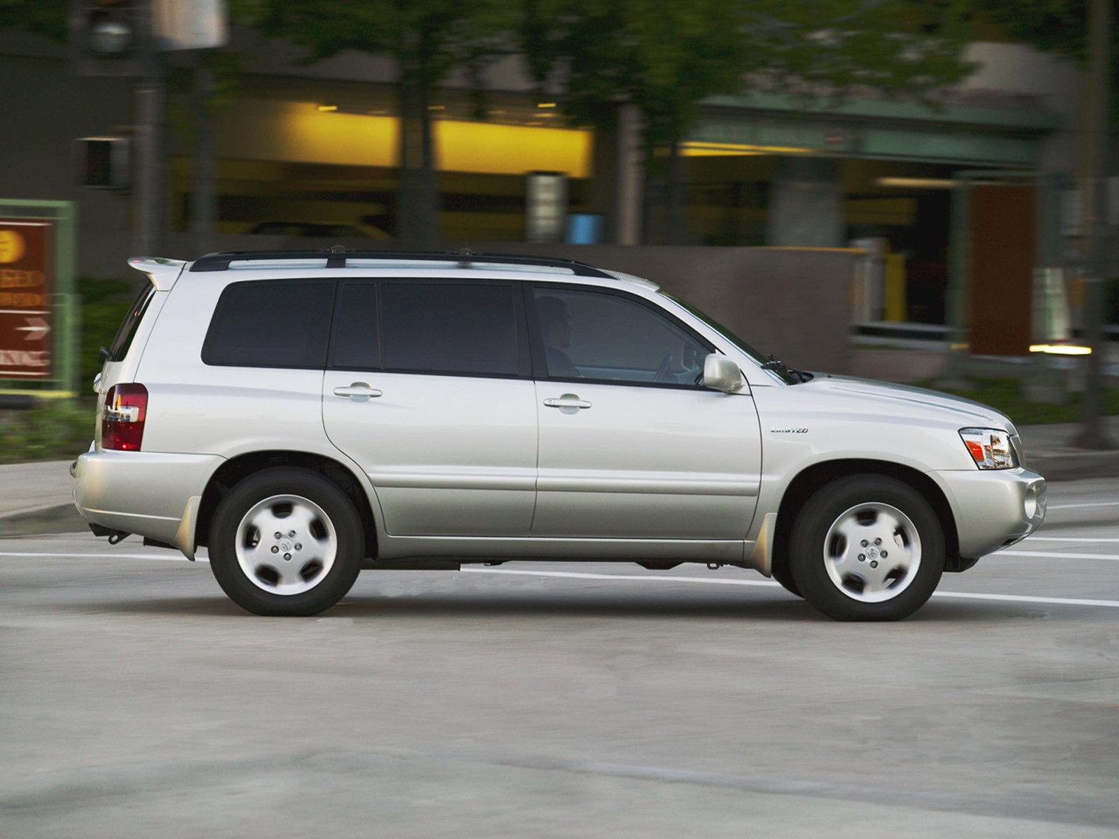 Toyota Highlander технические характеристики ...