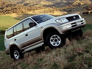 Toyota Land Cruiser Prado 5 дв. внедорожник Land Cruiser Prado