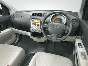 Toyota Passo 5 дв. хэтчбек Passo