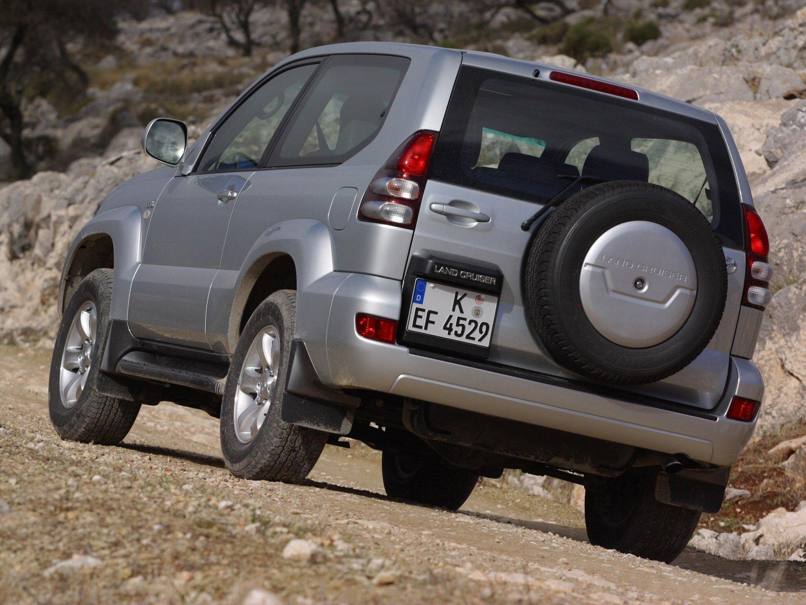 Toyota (Тойота) Land Cruiser Prado 2002-2009 г.